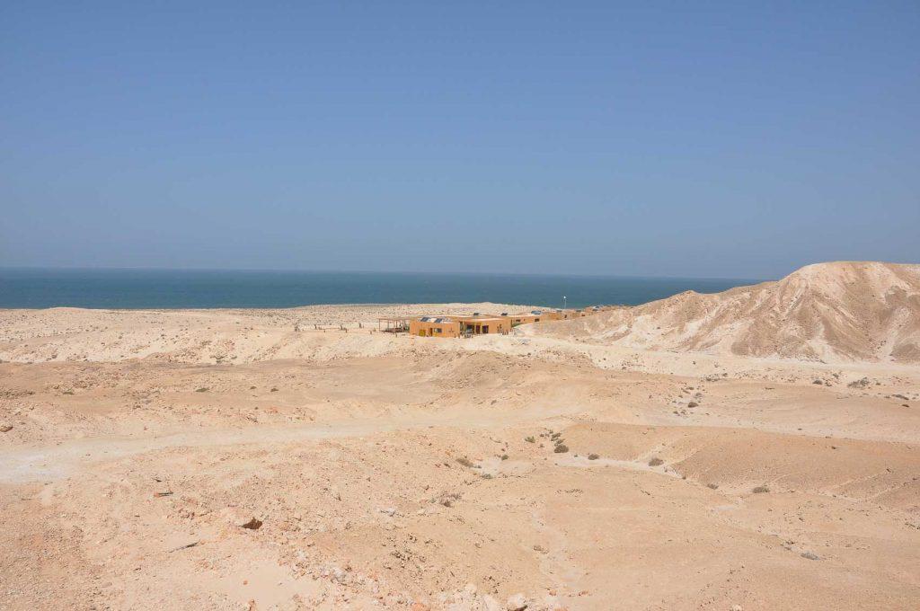 Dakhla Turtle Bay - Le spot