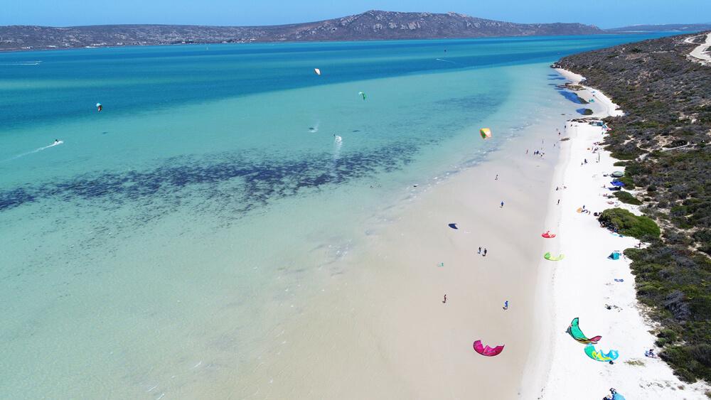 kitesurf-langebaan-shark-bay-lagoon